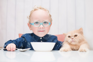Les animaux de compagnie et le système immunitaire des enfants